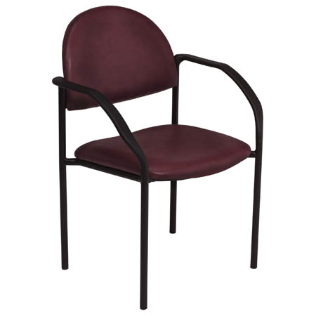 MooreBrand Side Chair with Arms - Model 81-1200, Each