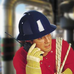 North Safety Wide Brim Hard Hats - Pin Lock Adjustment, Model A49020000, Each