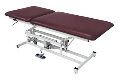 Performa Bariatric Tables Three-Section Color: Dove Gray - Model 554246