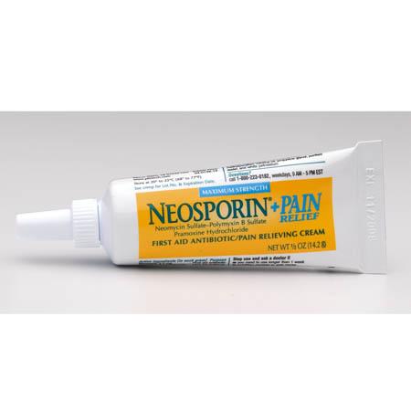 Pfizer Consumer Healthcare NEOSPORIN + Pain Relief Antibiotic Cream, 1/2  oz , Each