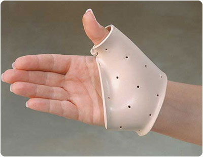 Polyform Splinting Material 1% Perforated, White, 1/8