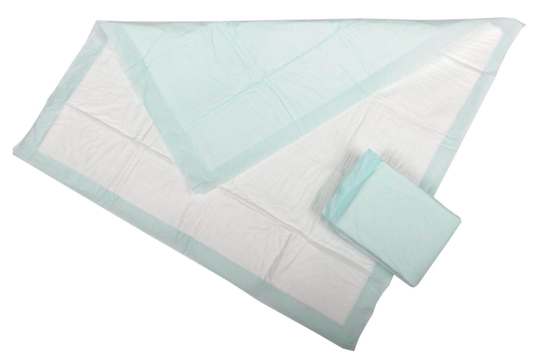 Medline Protection Plus Polymer Underpad - Std, Prot Plus, 23X36