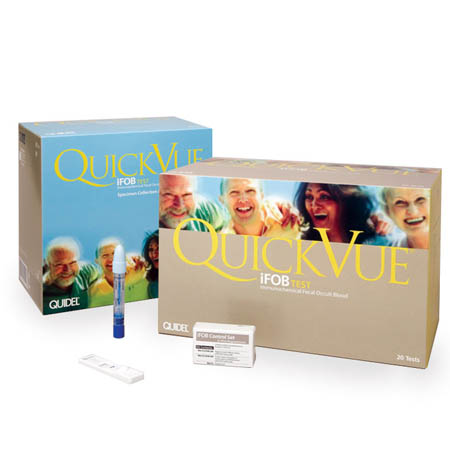 Quidel QuickVue iFOB Test - Test Kit - Model 20201, Box of 50