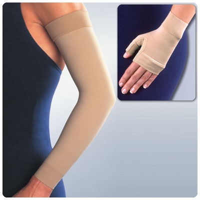 Ready-to-Wear Arm Sleeve & Gauntlet 15-20mmHg Sleeve Lrg Cir.Wrist 67/8