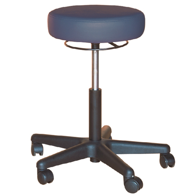 Revolving Stool with Circular Actuator. Color: Teal - Model 554106T