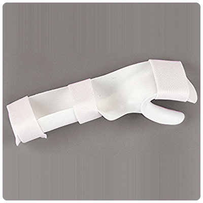 Rolyan Functional Position Hand Splint with Strapping Left; 1/8