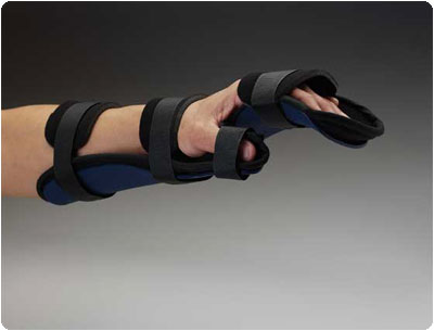 Rolyan Kydex Splints Right, Size: Small, Length: 10-1/2