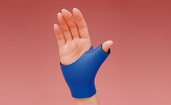 Rolyan Neoprene Thumb Supports Pull On, Left Size: XS 5