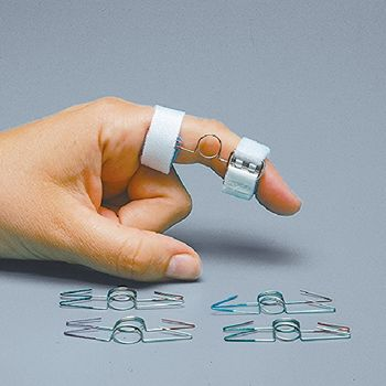 Rolyan P.I.P.E. (Proximal Interphalangeal Extension) Splint Size: Large, Digit length from midpoint