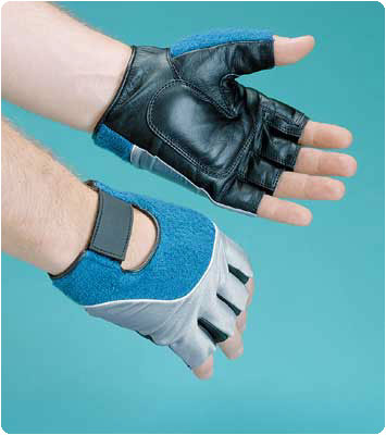 Rolyan Workhard Gel Glove Right, Size: XS - Model A99592