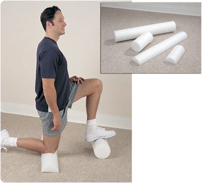 Patterson Medical Foam Therapy Rolls Half-round Foam Roller 8