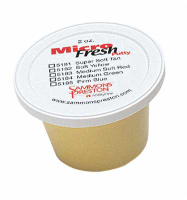 Patterson Medical Micro-Fresh Putty Patterson Medical Rolyan Micro-Fresh Putty Color: Yellow 4oz.