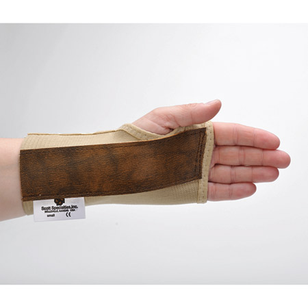 Scott Specialties Elastic Wrist Brace with Narrow Stay - Right, X-Large - Model 4040R-XLG, Each