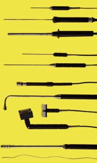 Sper Scientific Type-K Thermocouple Probes - Magnetic, for use on Stationary Metal Surfaces