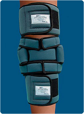 Static Knee Orthosis Size: X-Large, Mid-Calf Circum.: 19