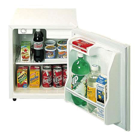 Summit Appliance Refrigerator with Freezer and Lock - Model S19L, Each