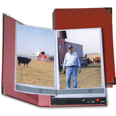 Talking Photo Album Easy-to-use speech output device - Model 564304