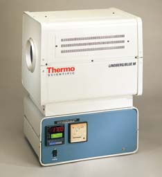 Thermo Scientific Lindberg/Blue M Tube Furnaces, 1700 degrees C, Model STF54434C, Each