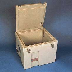 ThermoSafe Brands ThermoSafe Compact Dry Ice Chest, Storage and Transport, Model 450, Each