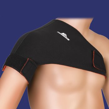 Thermoskin Shoulder Supports - Single Sports, Beige, XS, Chest Circ: 33