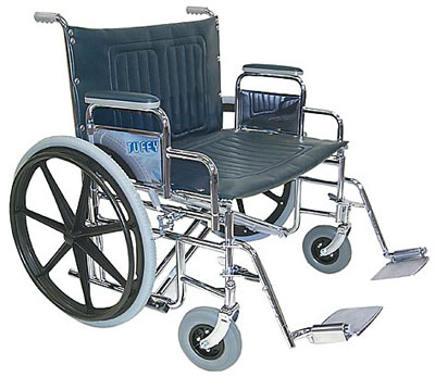 Tuffy Bariatric Wheelchair 28