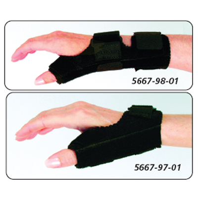 UTS Universal Thumb Support & UWTS Universal Wrist Thumb Support - Wrist/Thumb Support, Size: Youth,