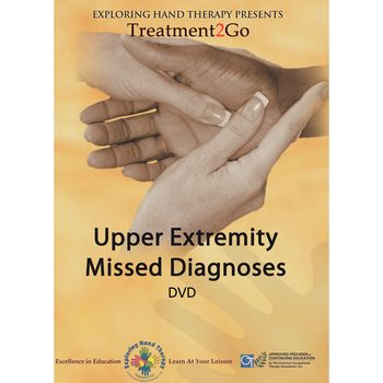 Upper Extremity Missed Diagnoses - DVD - Model 566482