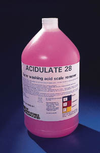 Quip Laboratories ACIDULATE 28 Cleaning Compound, 19 L (5 gal.), Model A-28-5, Each