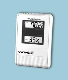 VWR Digital Hygrometer/Thermometer, Model 35519-044, Each