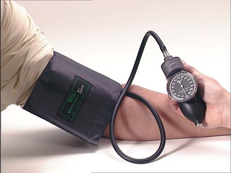 Welch Allyn Hand Aneroid with Adult Two-Piece Cuff and Bladder - Model 5098-02CB