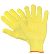 Wells Lamont Kevlar Cut-Resistant String Knit Gloves - Mediumweight Gloves, Medium, Model 1800M