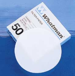 Whatman Grade 50 Quantitative Filter Paper, Low Ash, Model 1450-185, Pack of 100