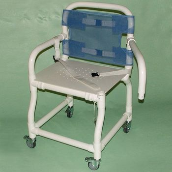 Wheeled Deluxe Swing Arm Shower Chair Swing Arm - Model 564204