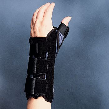 Wrist Brace with Thumb Spica, Right Size: XL - Model 78600105