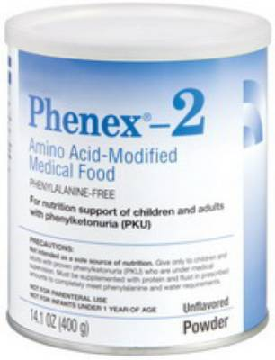 Abbott Phenex-2 Oral Supplement, Unflavored Powder 14.1 oz., Pkg of 6 - Model 51122
