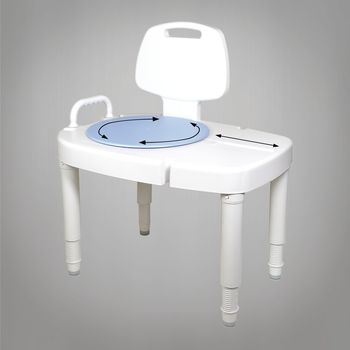 Invacare Bathtub Transfer Bench Item 6291
