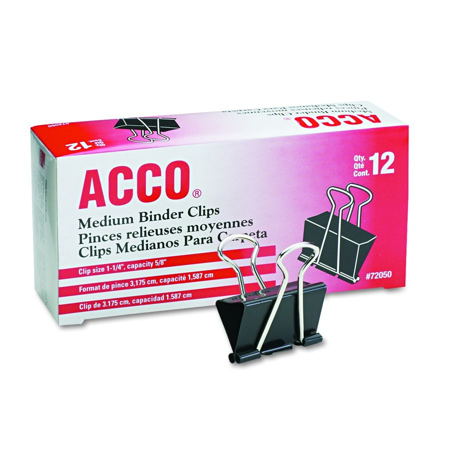 Acco Brands Binder Clip