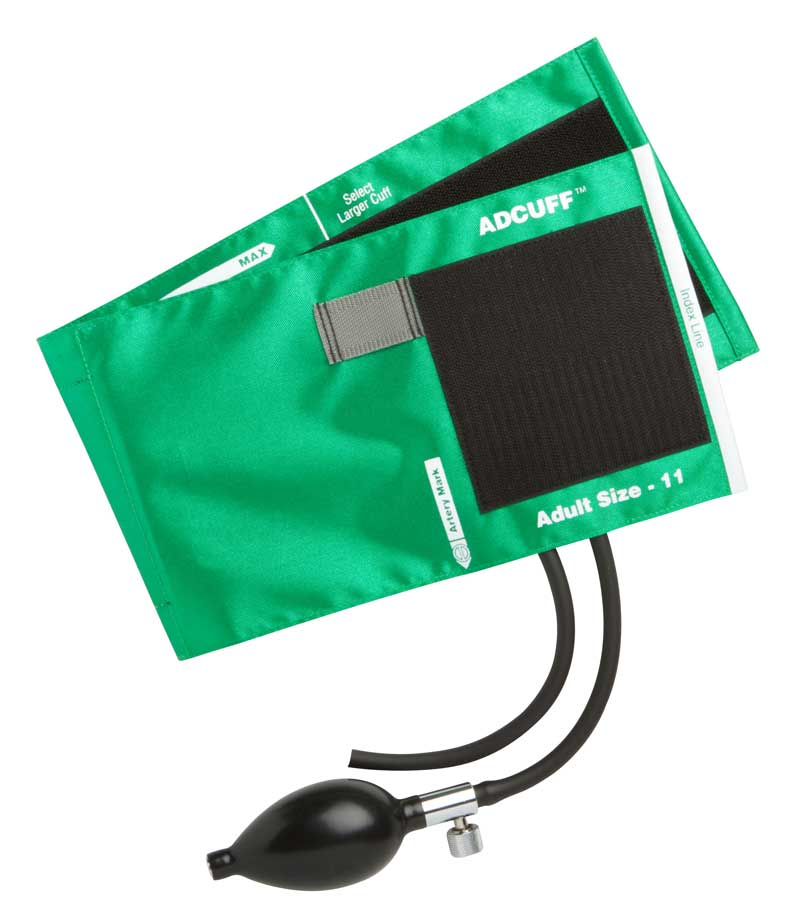 ADC Adcuff Inflation System - Bp, Adult, Lg, Navy, Each - Model 865-12XN
