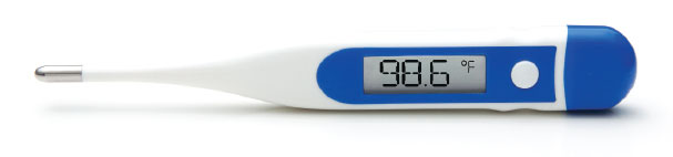ADC Adtemp Hypothermia Thermometer, Each - Model 419