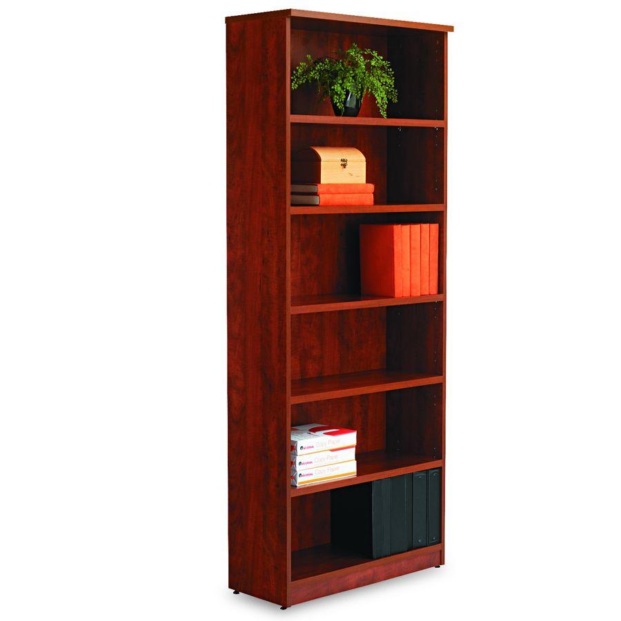 Alera Bookcase 80 25 6 Shelf Mc Each Model Va63 8232mc