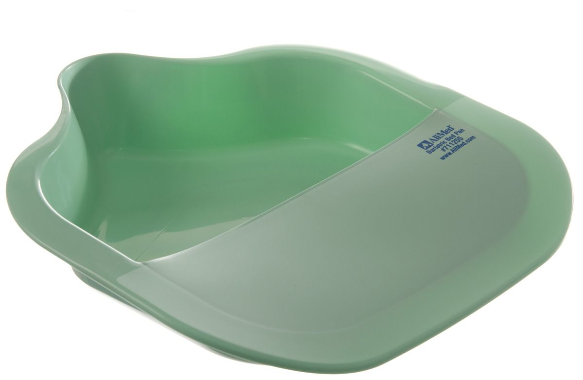 how to use a fracture bedpan
