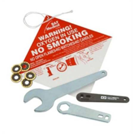 Allied Healthcare No Smoking Placard 5-1/8 X 5-1/8 Inch, Pkg of 100 - Model 66099