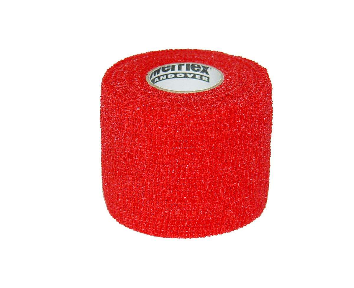 Andover Coated Prod PowerFlex Cohesive Bandage - Red, 2