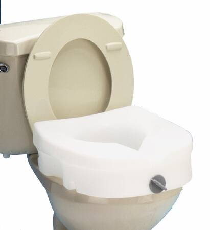 Miraculous Raised Toilet Seat Pabps2019 Chair Design Images Pabps2019Com