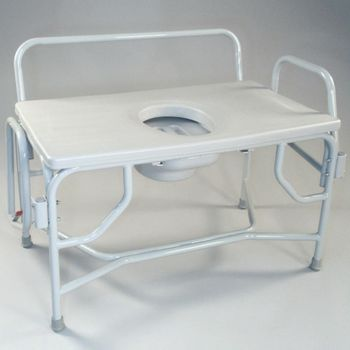 Bariatric Drop Arm Commode. - Item #81533124