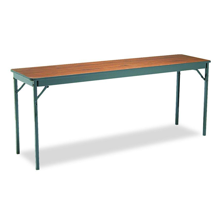 18 X 72 Folding Table.Barricks Manufacturing Folding Table 18x72 Bk Wal Each Model Cl1872 Wa