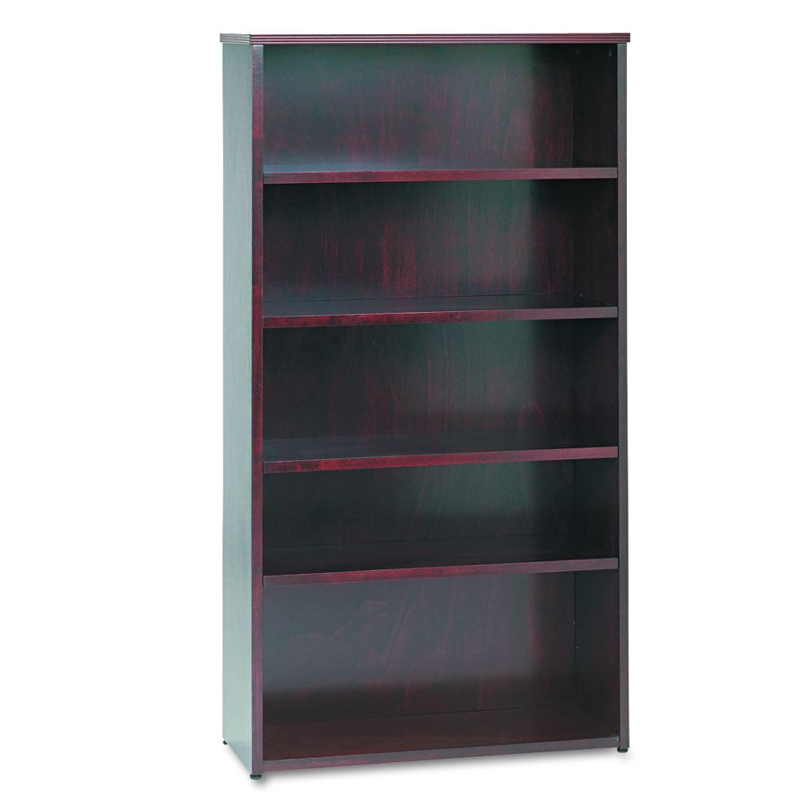 Basyx Bookcase - 5 Shelf, Mah, Each - Model BW2193NN