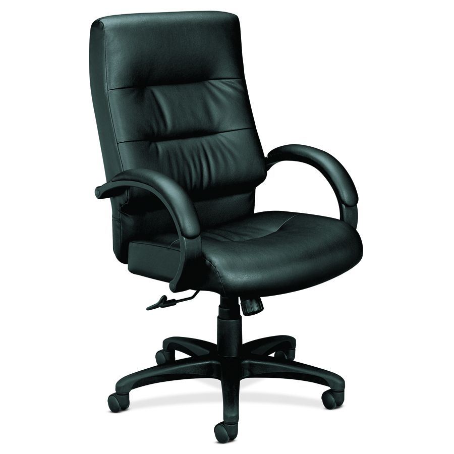 Basyx Executive Fabric Chair - Bk, Each - Model VL691SP11