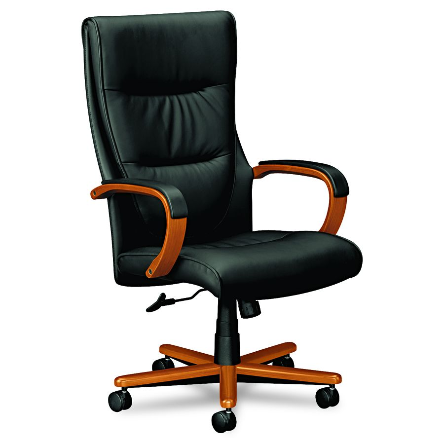 Basyx Executive High-Back Chair - Hi Back, Bbc/Bk, Each - Model VL844HSP11