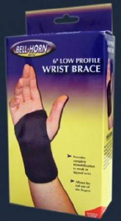DJO Wrist Brace Elastic Left Hand Large, Each - Model 192L